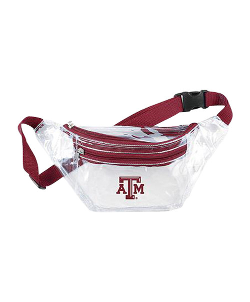 Clear Sling Pack | Maroon
