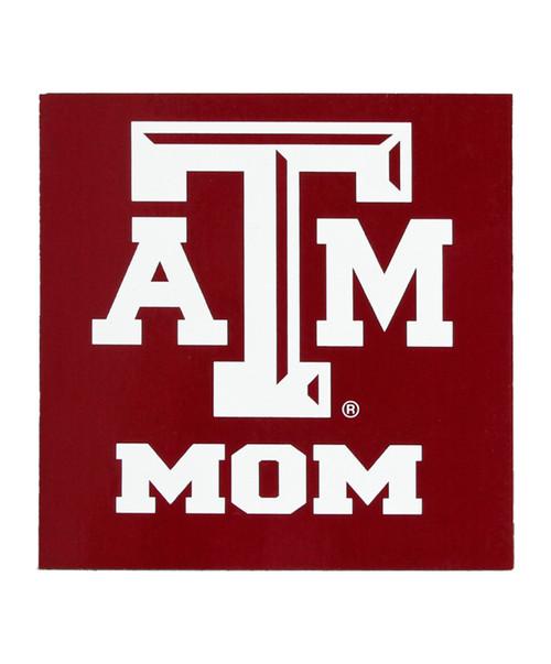 Texas A&M Aggie Mom Magnet 3 x 3 | Maroon