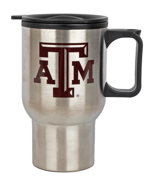 Texas A&M Aggies 14oz Stainless Steel Travel Coffee Mug