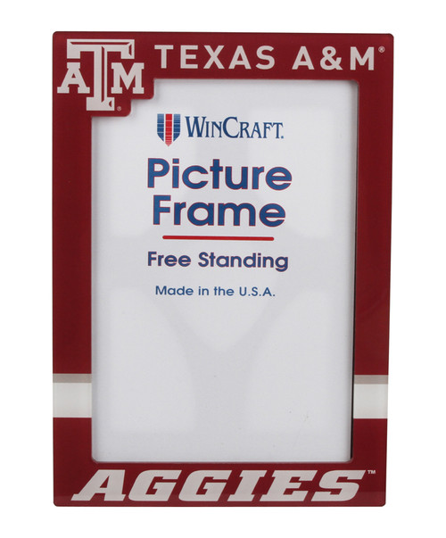 """Texas A&M Aggies 5"""" x 7"""" Acrylic Picture Frame"""