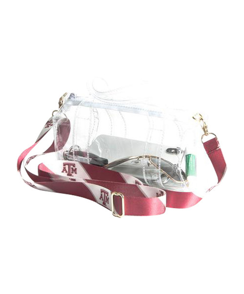 Clear Gameday Mini Duffle Crossbody