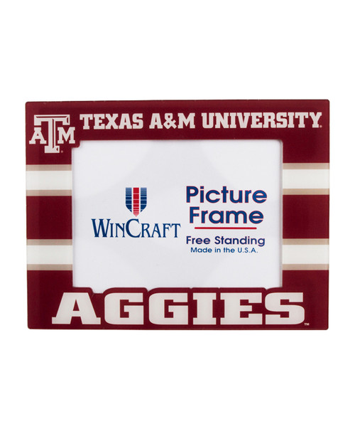 """Texas A&M Aggies 7"""" X 9"""" Acrylic Picture Frame"""