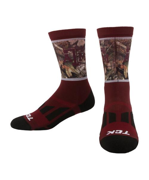 Texas A&M Aggies Dye-Sub Break-Up Country Socks