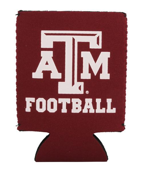 Texas A&M Aggie Football Koozie | Maroon