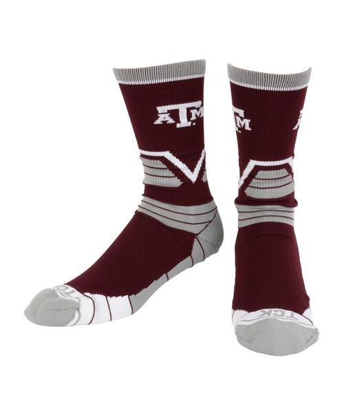 Texas A&M Aggies Victory Crew Socks