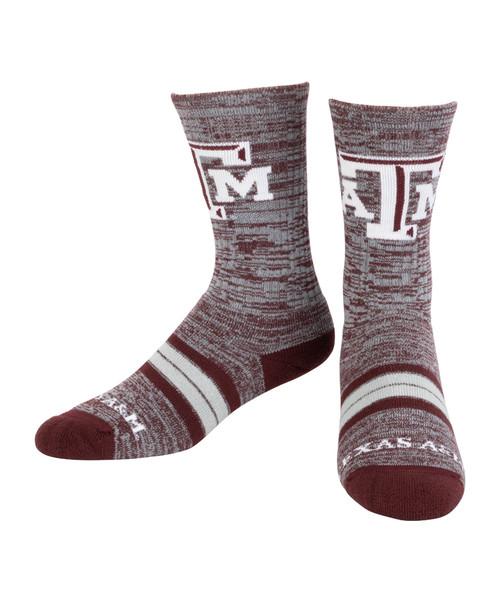 Texas A&M Aggies Quad Socks