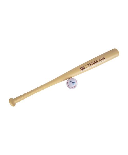 Texas A&M Aggies Bat & Ball Set | Beige