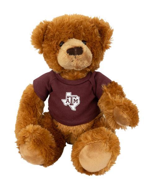 Texas A&M Aggies Arlo Bear Lonestar Logo With Maroon T-Shirt