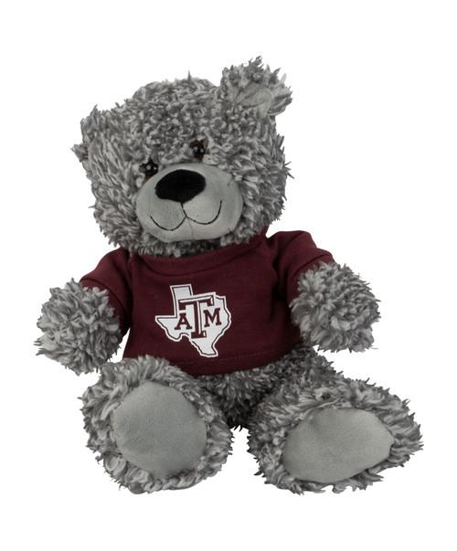 Texas A&M Aggies Bodie Bear Lonestar Logo On Maroon T-Shirt