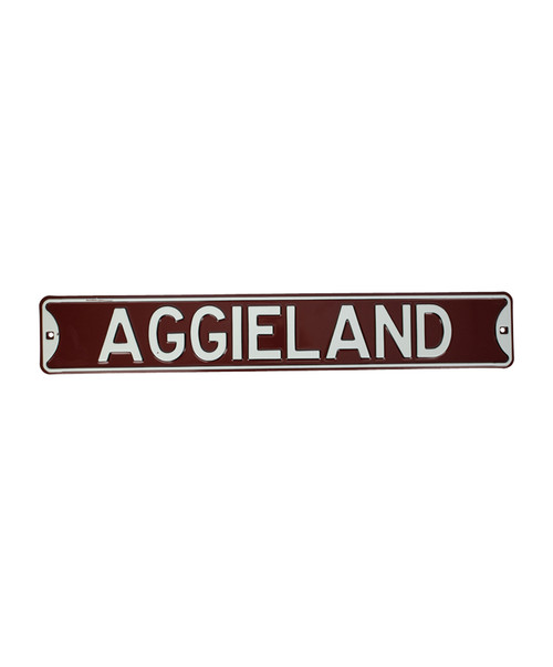 Texas A&M Aggies Aggieland Metal Wall Sign