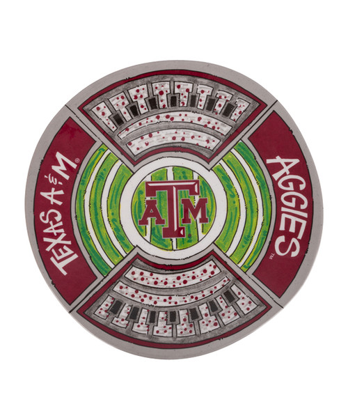 Texas A&M Aggies Magnolia Lane Stadium Platter