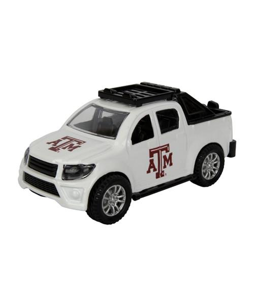 Texas A&M Aggies Pull Back Truck