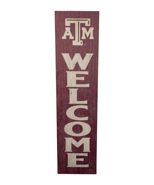 Texas A&M Aggies Two Sided Leaner Sign (IN-STORE PICK UP ONLY)