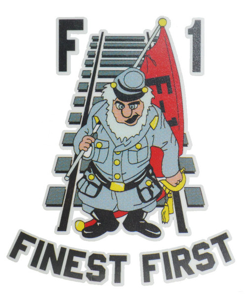Corps Of Cadets F-1 Car Decal