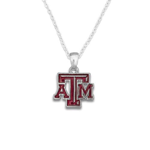 Texas A&M Aggies Logo Mariah Collection Necklace