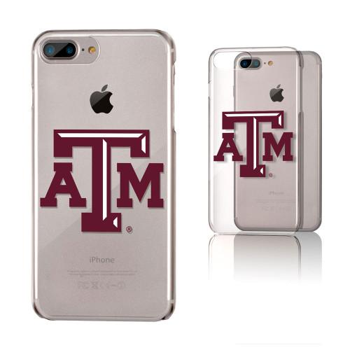 Texas A&M Aggies Insignia iPhone 7 +/8+ Plus Clear Slim Case