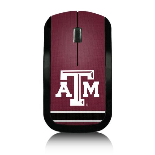 Texas A&M Aggies Logo Wireless USB Mouse