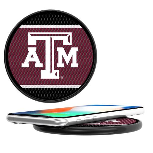 Texas A&M Aggies Maroon Mesh Logo 10-Wyatt Wireless Charger