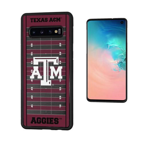 Texas A&M Aggies Football Field Galaxy S10 Bumper Case