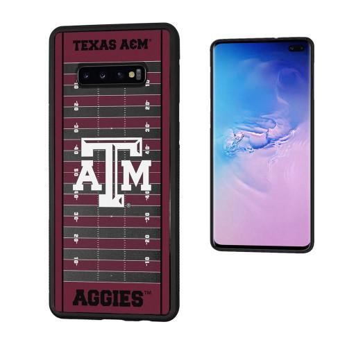 Texas A&M Aggies Football Field Galaxy S10+ Bumper Case