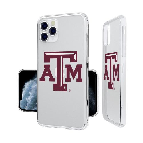 Texas A&M Aggies Insignia iPhone 11 Pro Clear Case