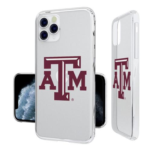 Texas A&M Aggies Insignia iPhone 11 Pro Max Clear Case