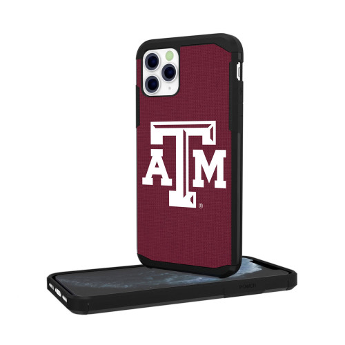 Texas A&M Aggies Solid Maroon iPhone 11 Pro Rugged Case