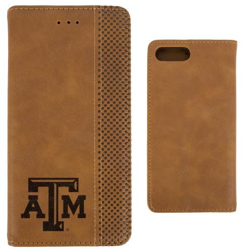 Woodburned Folio iPhone 8+/7+ Case