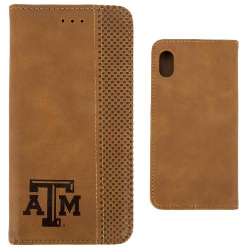 Woodburned Folio iPhone XR Case