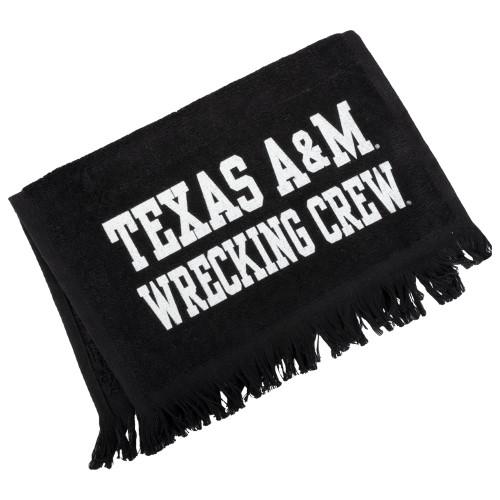 Texas A&M Aggies Black Football Wrecking Crew Towel