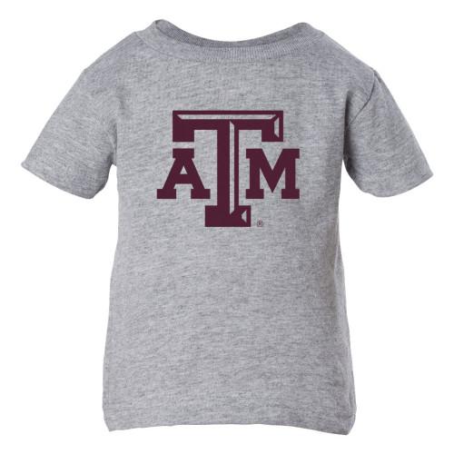 Infant ATM Heather Grey Short Sleeve T-Shirt