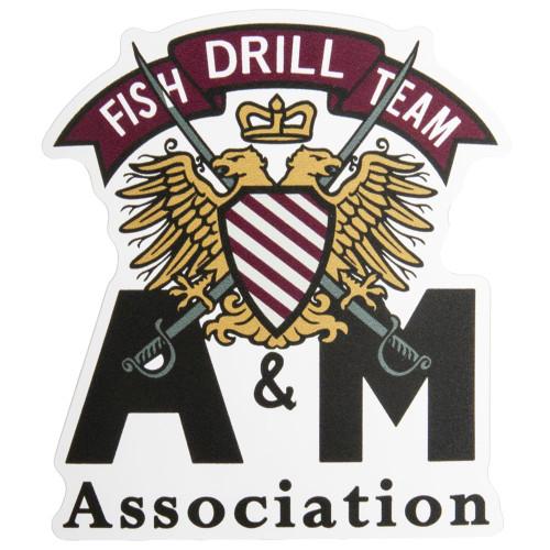 Fish Drill Team Sticker
