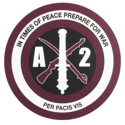 Corps of Cadets A-2 Car Decal