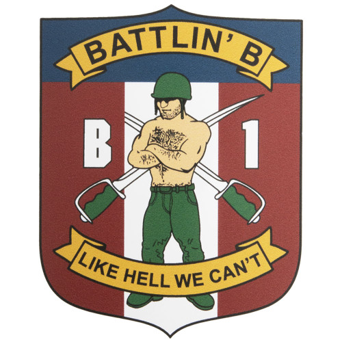 Corps of Cadets B-1 Car Decal