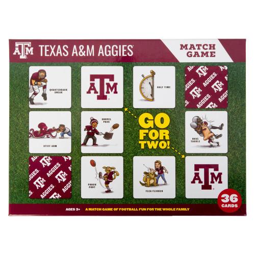 Texas A&M Aggies Memory Match Game