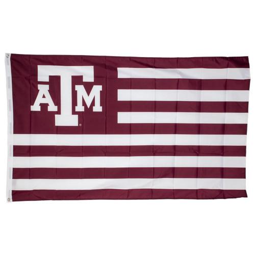 Texas A&M Aggies Maroon USA 3x5 Flag