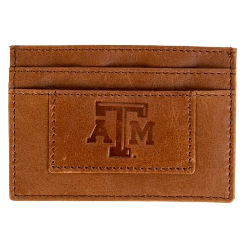 Texas A&M Aggies Tan Money Clip