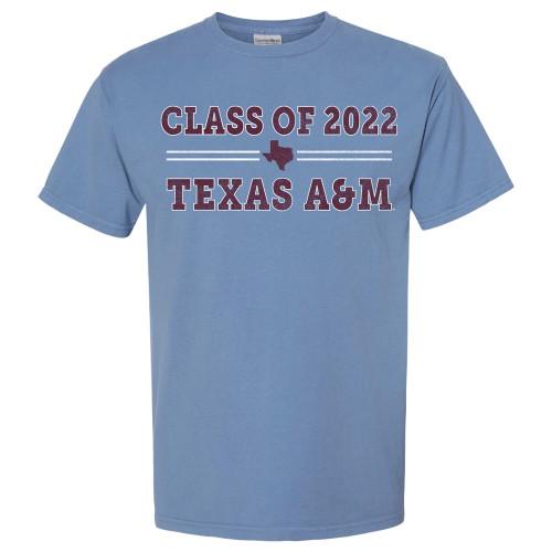 Class Of 2022 Bar Design Saltwater Short Sleeve T-Shirt