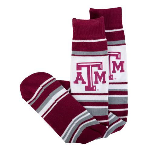 Texas A&M Aggies Lotta Stripe Socks