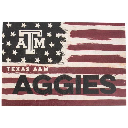 Texas A&M Aggies 9x13 Strong Flag Decor