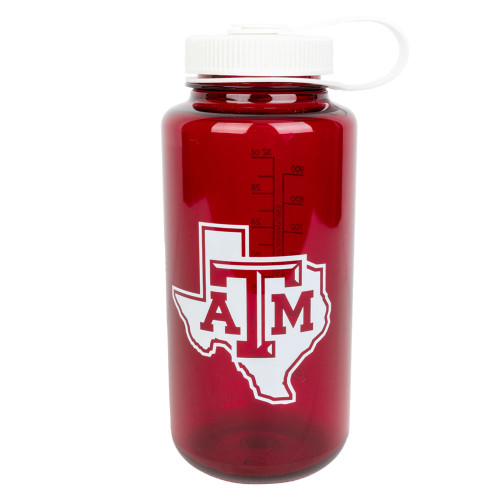 Texas A&M Aggies Lonestar Wide Mouth Water Bottle Maroon
