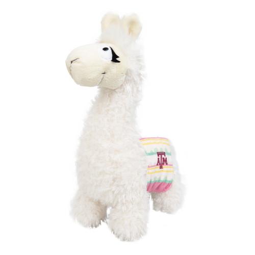 Texas A&M Aggies Tina The Llama With Striped Saddle