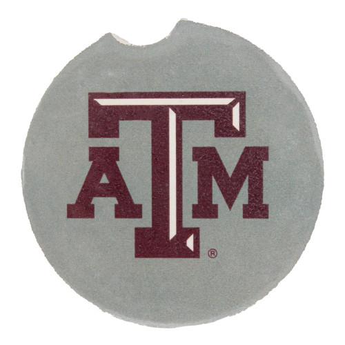 Texas A&M Aggies Grey A&M Car Coaster