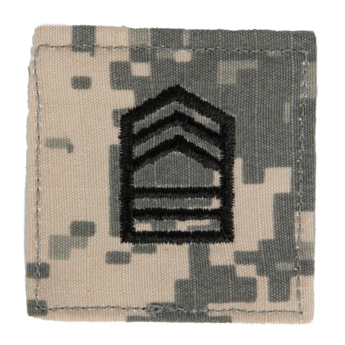 Texas A&M Corps of Cadets Master SGT ACU Rank Pair