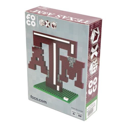 Texas A&M Aggies Brixel 3D Logo Puzzle