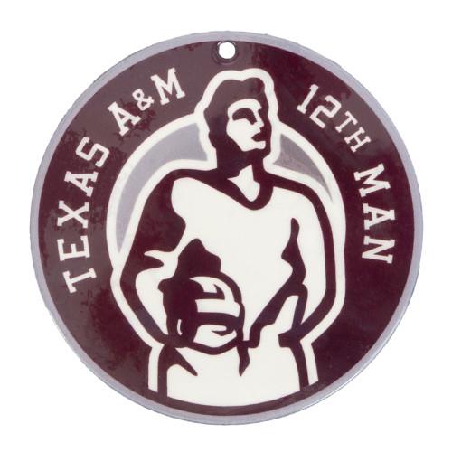 Texas A&M Aggies 12th Man Steel Magnet
