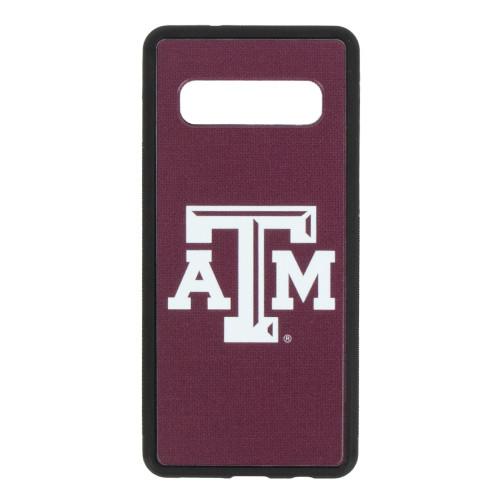 Texas A&M Aggies Solid Galaxy S10 Bumper Case