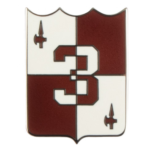 Texas A&M Corps of Cadets 3rd Regiment Shield