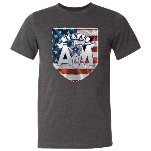 TXAM Corps USA Shield -Drk Grn