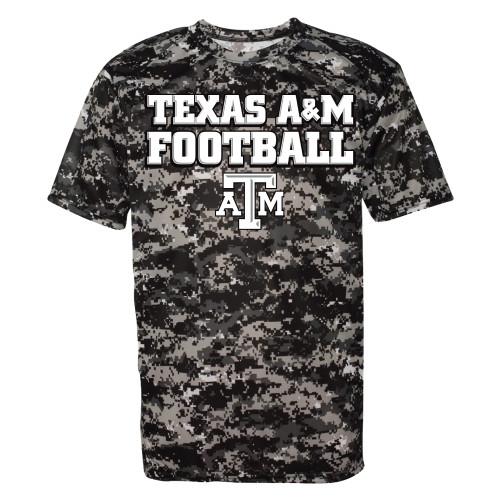 TX A&M Football Digi Camo